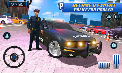 Police Car Parking: Police Jeep Driving Games screenshots 4