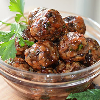 Sweet and Sour Appetizer Balls.