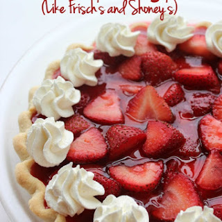 Easy Strawberry Pie (Like Frisch's and Shoney's)