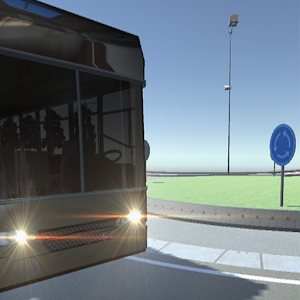 bus simulator 2017 slalom 3D