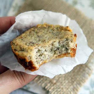 Coconut Flour-Cauliflower Bread {vegan+grainfree+glutenfree+paleo+sugarfree}.