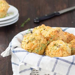 Zucchini Cheddar Cheese Savory Muffins.