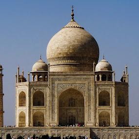 Taj Mahal by Dola Das - Landscapes Travel