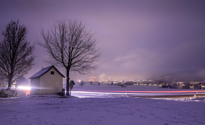 Scie di luce a mezzanotte di Danis_photocorner