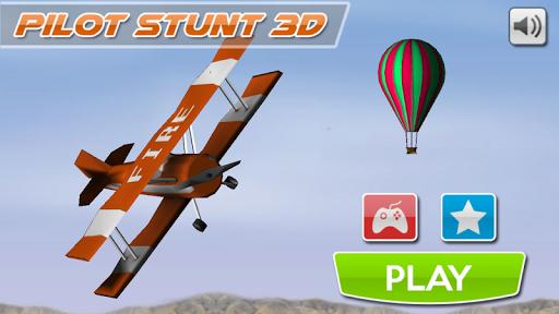 疯狂的飞行员3D模拟器
