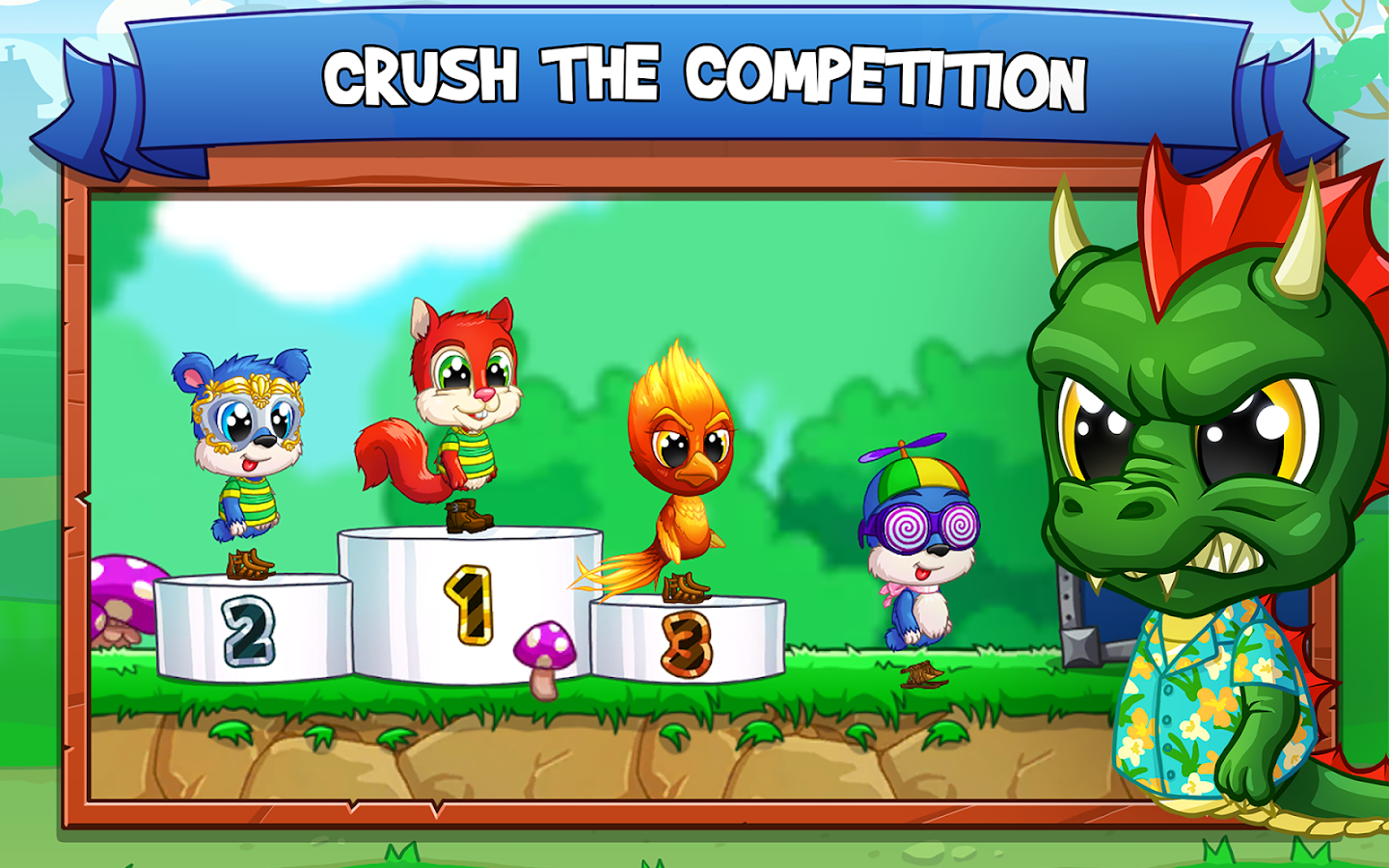 Fun Run 3 - Multiplayer Race