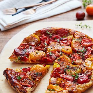 Tomato Tarte Tatin.