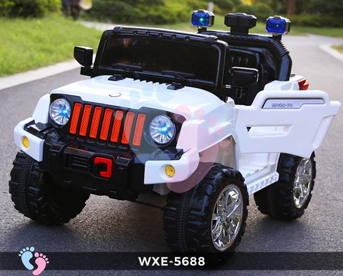 Ô tô điện cho bé WXE-5688 2 động cơ 1