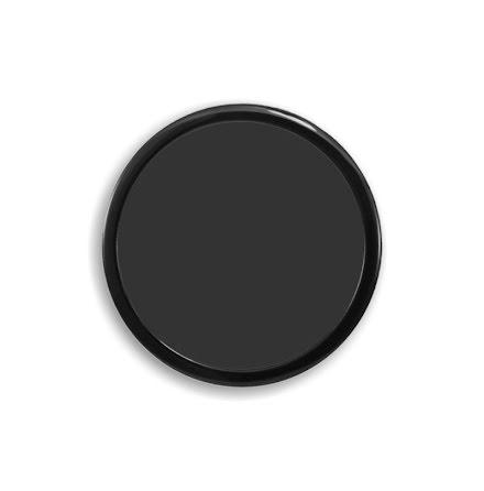 DEMCiflex magnetisk filter 200mm, rund, sort