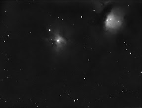 Photo: M78 unguided from last night while I ran to the warm room.  I nabbed a few Lum = 7 x 30s = 3.5m (1x1) R = 0@ x 0s = 0.0m (2x2) G = 0@ x 0s = 0.0m (2x2) B = 0@ x 0s = 0.0m (2x2) Total Time = 3.5 min
