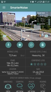 SmarterNoise – video sound meter recorder camera App Download For Android 2