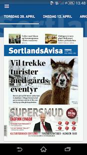 SortlandsAvisa - náhled