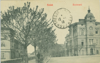 Photo: Bulevard - pogled s trga pred Sušačkom gimnazijom