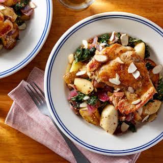 Seared Chicken & Pan Sauce.