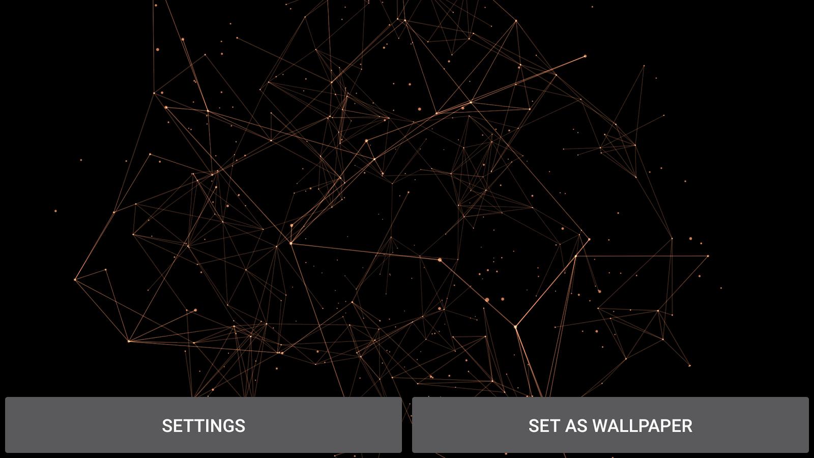 Particles Best 3d Wallpaper For Pc Android Iphone: Particle Plexus Live Wallpaper