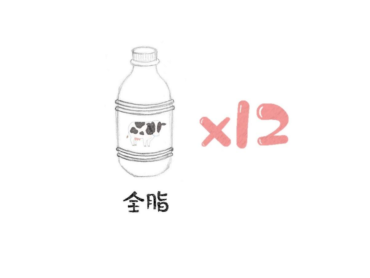 套餐組合4(內含運費)鮮乳12