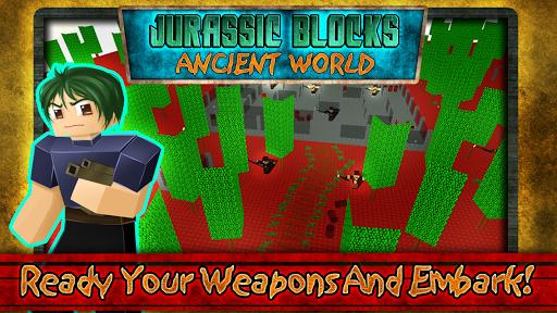 Jurassic Blocks Ancient World