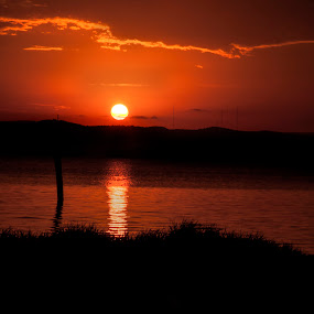 Her Last Sunset by Trish Beukers - Landscapes Sunsets & Sunrises ( work of h'art photography )