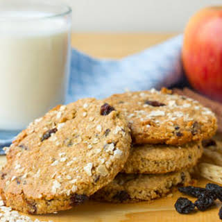 Apple Oatmeal Raisin Cookies.