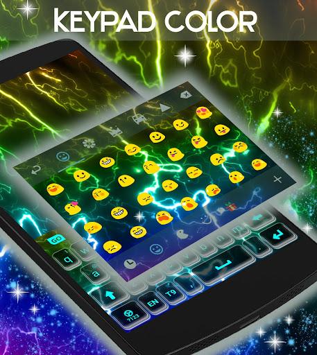 無料个人化Appのキーパッド色ネオン|記事Game