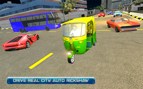 Auto Rickshaw Driving - City passenger transporter - náhled