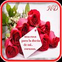 Rosas Con Frases De Amor icon