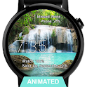 Watch Face Waterfall Wallpaper icon