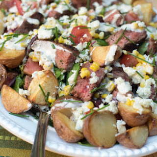 Cowboy Steak Salad.