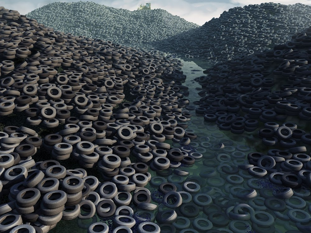 Trade in tyre recycling is big, but toxic, in India
