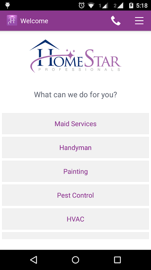 HSP Home Services- screenshot