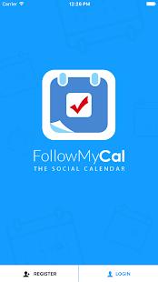 FollowMyCal - náhled