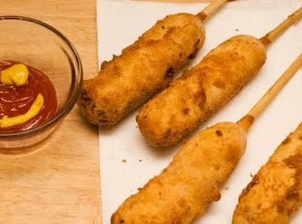 Homemade Corn Dogs Or Little Smokies Recipe