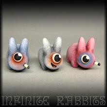 """Photo: 1.5"""" Mini Labbits #toyboxcleveland"""