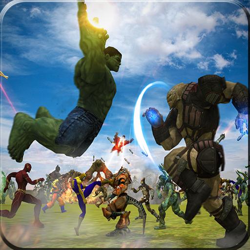 Alien vs Hero: Superhero Epic Battle