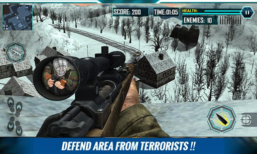 Army Sniper Wanted Terrorist