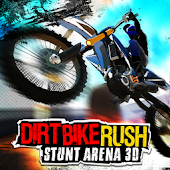 Dirt Bike Rush: Stunt Arena 3D