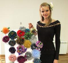 Photo: Цветы из ткани своими руками, Татьяна, Самара, выставляем свои творения...