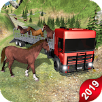 Horse Transport Truck Sim 19 -Rescue Thoroughbred icon