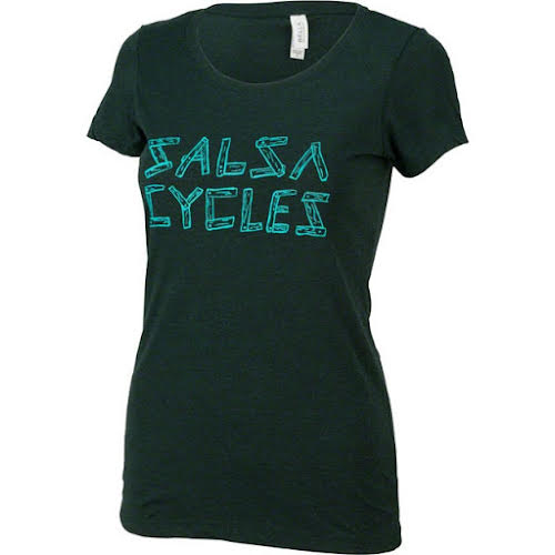 Salsa Women's Barnwood Logo T-Shirt