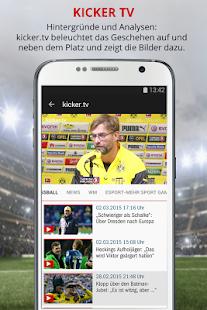 kicker Fußball News - screenshot thumbnail