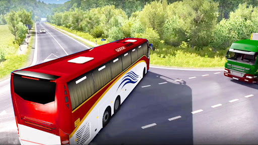 bus simulator : coach hill driving game 2019  screenshots 5