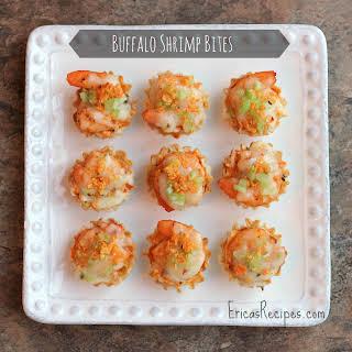 Buffalo Shrimp Bites.