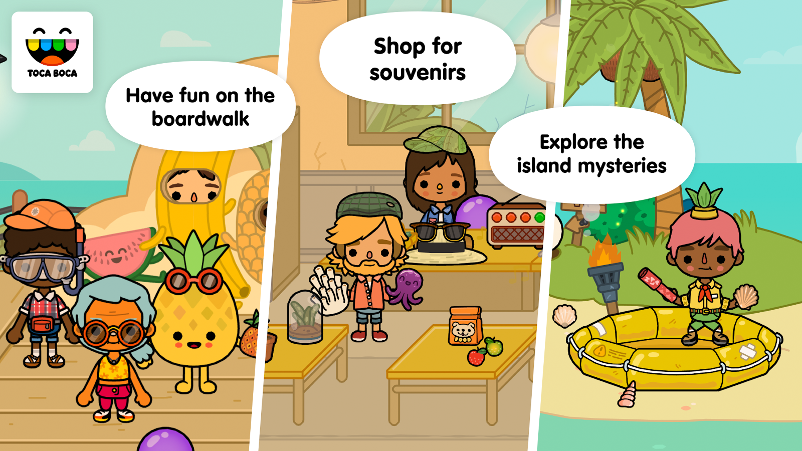 Toca Life: Vacation- screenshot