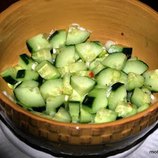 Cool and Refreshing Asian Cucumber Salad