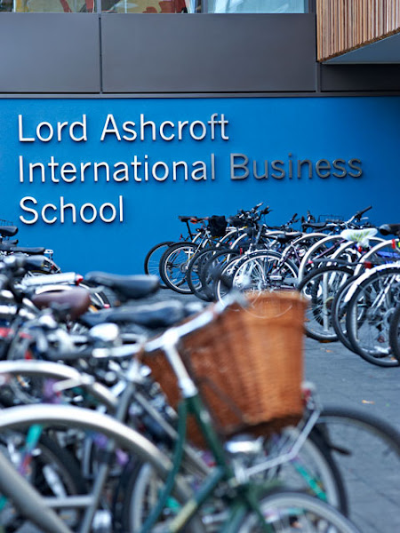 Photo: The Lord Ashcroft International Business School on the Cambridge Campus.