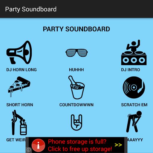 Party Soundboard