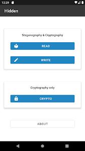 Hidden: Steganography & Cryptography 1.8