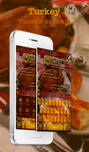 TouchPal Turkey Day Theme