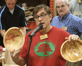 Photo: ...and the one in his right hand of box elder.