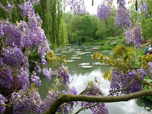 Monet's Garden, where Claude Monet painted all those water lilies, is in Giverny, France.